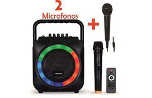 altavoz portatil microfono