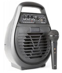 altavoz portatil con microfono media markt