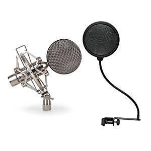 microfono unidireccional mitzu