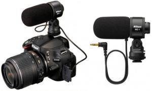 microfono para camara reflex nikon