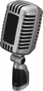 microfono antiguo vintage