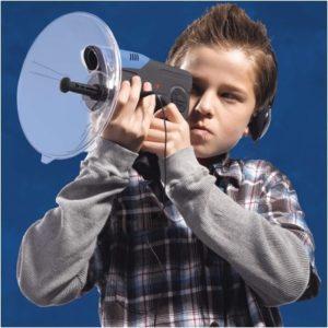 micrófono parabólico direccional