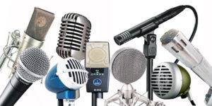 micrófono de ambiente en inglés