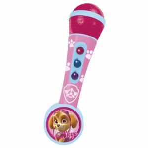 microfono de mano patrulla canina