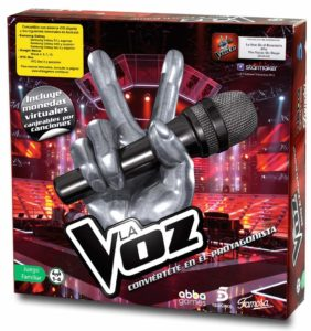 microfono la voz toysrus
