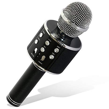 microfono bluetooth para karaoke