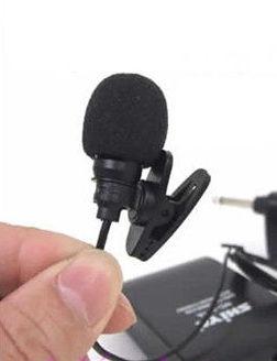 micrófono de corbata
