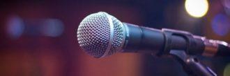 Micrófono para cantar