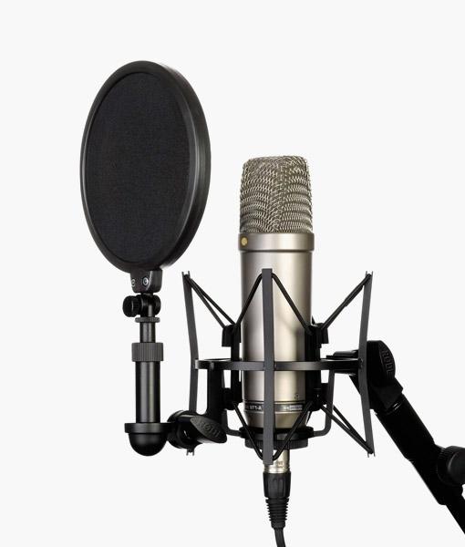 microfono para cantar y grabar