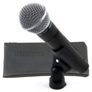 microfono shure inalambrico