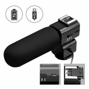 microfono externo para camara reflex