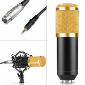microfono condensador que es