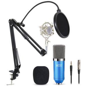 brazo articulado para microfono de estudio