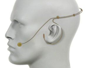 micrófono electret en proteus