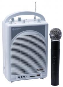 amplificador microfono y guitarra