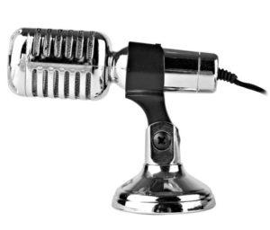 microfono antiguo png