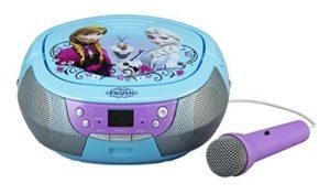 microfono con amplificador frozen