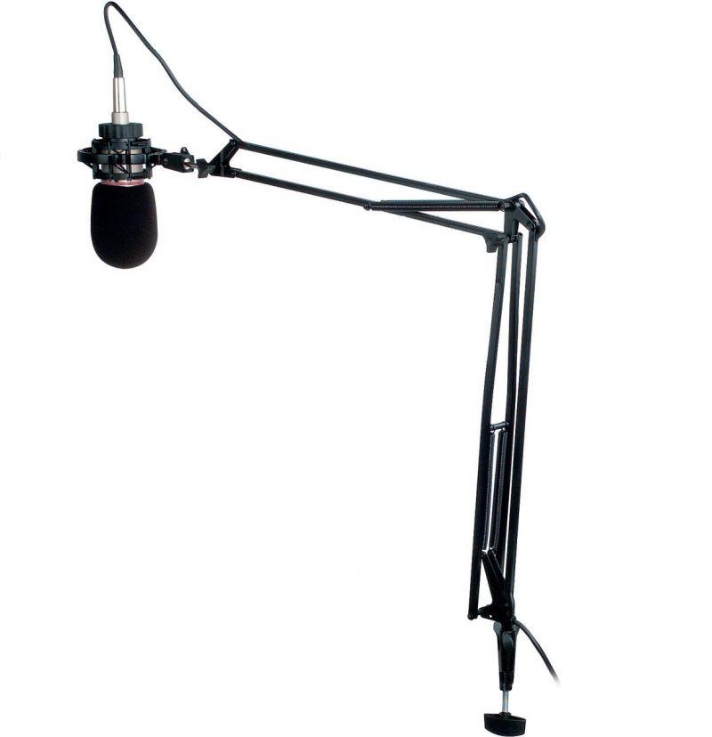 soporte micrófono ingles