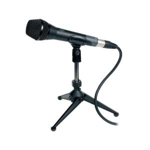 pie de microfono casero