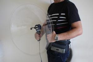 microfono parabolico espia