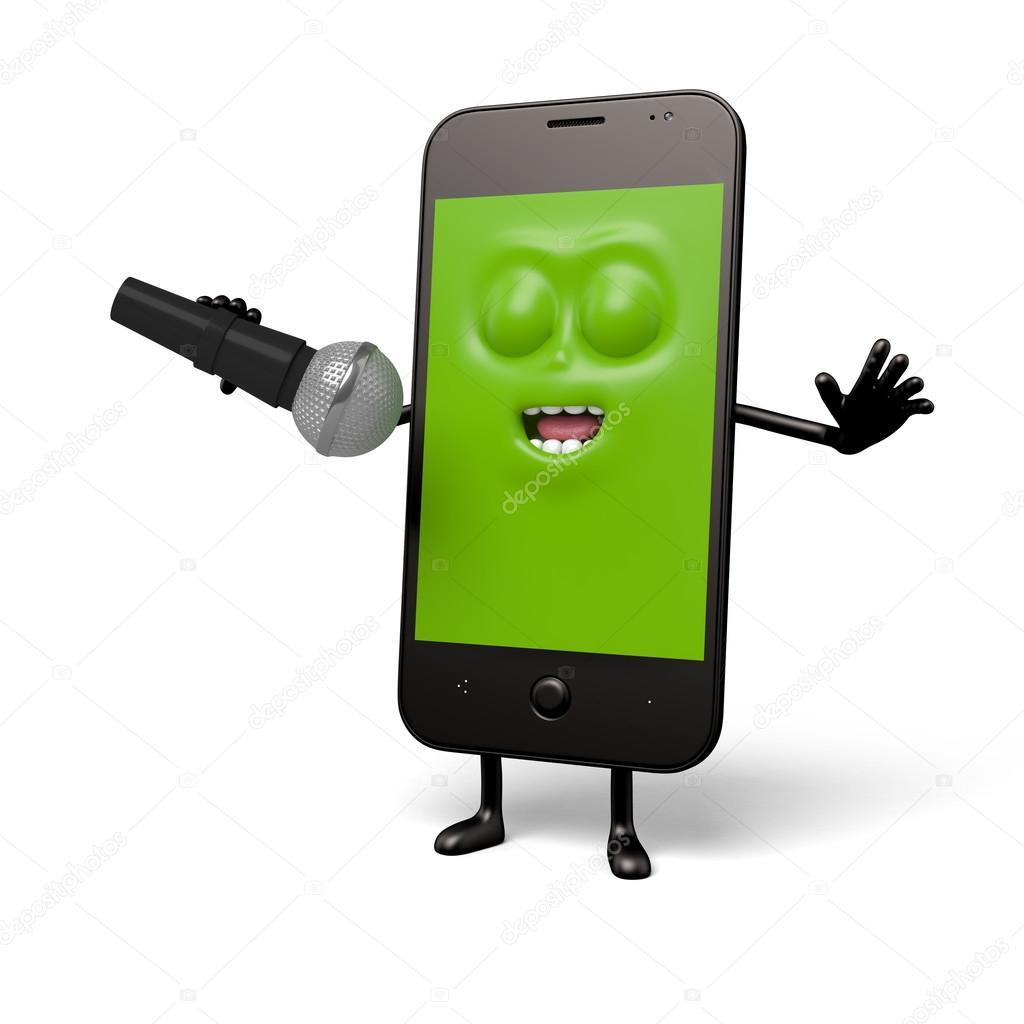 usar celular como microfono bluetooth