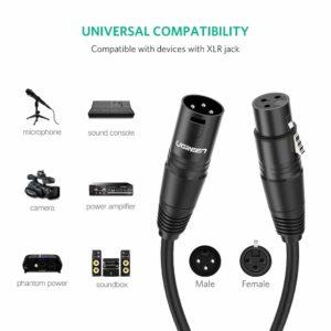 cable auxiliar micrófono